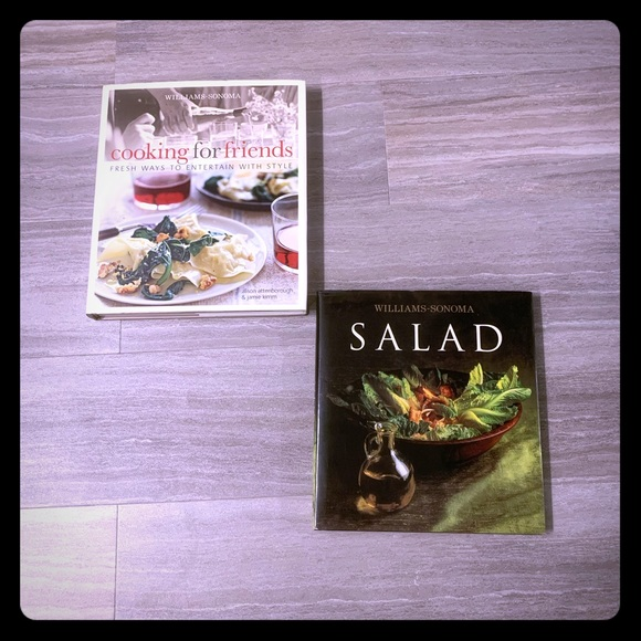 Williams Sonoma Cook Book Bundle Nwt